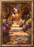 Il Viale del Gardino Poster by Claude Monet