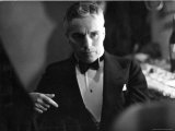 Candid Portrait of Actor/Director Charlie Chaplin in Evening Clothes Premium Photographic Print by Alfred Eisenstaedt