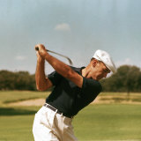 Golfer Ben Hogan Premium Photographic Print by Yale Joel