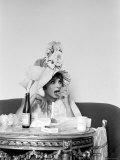 Actress Sophia Loren Fototryk i høj kvalitet af Alfred Eisenstaedt