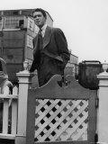 Actor James Stewart in Hollywood, 1938 Metal Print by Alfred Eisenstaedt