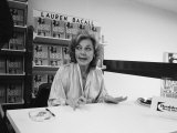 Actress Lauren Bacall at a Book Signing for Her New Autobiography by Myself Premium Photographic Print by Alfred Eisenstaedt