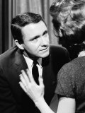 TV Talk Show Host Merv Griffin Reproduction photographique sur papier de qualité par Yale Joel