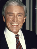 Television Personality Merv Griffin Premium Photographic Print by David Mcgough