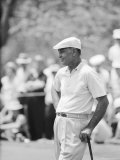 Golfer Ben Hogan Playing in US Open Tournament on Cherry Hills Course. Denver, Colorado June 1960 Premium Photographic Print by Ralph Crane