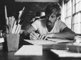 Actor Robert Redford Premium fotografisk trykk av John Dominis