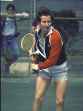 Tennis Pro John McEnroe Premium Photographic Print by David Mcgough