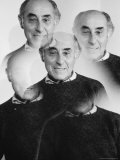 Multiple Exposure of Photographer Alfred Eisenstaedt, Photographic Print