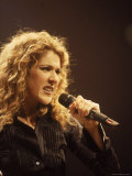 Singer Celine Dion Performing Premium Photographic Print by Dave Allocca