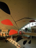 Flight by Alexander Calder in International Arrivals Terminal at New York International Airport Premium Photographic Print by Dmitri Kessel