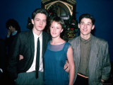 Actors Andrew McCarthy, Mary Stuart Masterson and Patrick Dempsey Premium Photographic Print by Ann Clifford