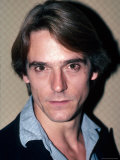 Actor Jeremy Irons Premium Photographic Print by David Mcgough