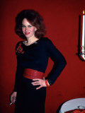 Actress Karen Black Premium Photographic Print by Ann Clifford