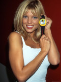 Actress Donna D'Errico Promoting Baywatch Sun Monitor Premium Photographic Print by Dave Allocca