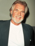 Singer Kenny Rogers Premium Photographic Print by Marion Curtis