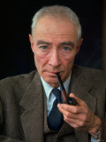 Nuclear Physicist Dr. J. Robert Oppenheimer Premium Photographic Print by Alfred Eisenstaedt