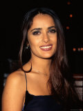 Actress Salma Hayek at Screening of Her Tent Television Film