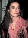 Actress Demi Moore at Talk Magazine Debut at Liberty Island Premium Photographic Print by Dave Allocca