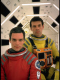 "Kier Dullea and Gary Lockwood in Publicity Still from Motion Picture ""2001: A Space Odyssey"" Premium Photographic Print by Dmitri Kessel"