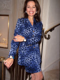 Actress Susan Lucci Premium-Fotodruck von Marion Curtis