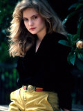 Actress Jennifer Jason Leigh Premium Photographic Print by David Mcgough