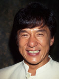 Actor Jackie Chan Premium Photographic Print by Dave Allocca