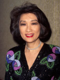 Television Journalist Connie Chung Premium Photographic Print by Dave Allocca