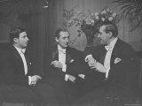 Violinist Nathan Milstein, Pianist Vladimir Horowitz and Cellist Gregor Piatigorsky Premium Photographic Print by Alfred Eisenstaedt
