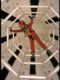 "Actor Keir Dullea Wearing Space Suit in Scene from Motion Picture ""2001: A Space Odyssey"" Metal Print by Dmitri Kessel"