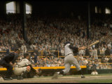 NY Yankees Right Fielder Roger Maris Against Detroit Tigers During Record Breaking 61 Homer Season Premium Photographic Print by Robert W. Kelley