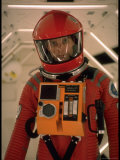 "Actor Keir Dullea in Space Suit in Scene from Motion Picture ""2001: A Space Odyssey"" Premium Photographic Print by Dmitri Kessel"