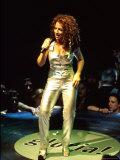Singer Gloria Estefan Performing Premium Photographic Print by Dave Allocca