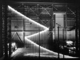 General Electric Lab, Creating Artificial Lightning to Study Its Behavior Premium Photographic Print by Andreas Feininger