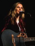 Singer Melissa Etheridge Performing Metal Print by Dave Allocca