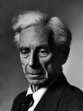 Portrait of Philosopher Bertrand Russell Premium Photographic Print by Alfred Eisenstaedt