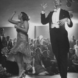 Winners of Contest Barbara Pettit and Dick Warren Dancing the Charleston at a University Party Photographic Print by Martha Holmes