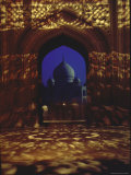 Taj Mahal, Tomb Built at Agra, India by Shah Jahan for His Wife Mumtaz Mahal Premium Photographic Print by James Burke