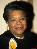 Writer/Actress Maya Angelou Premium Photographic Print by Dave Allocca