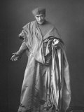 Woodbury Portrait by W. and D. Downey of English Actor Henry Irving in Costume as Cardinal Wolsey Premium Photographic Print by W&d Downey