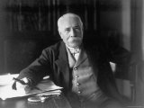 British Composer Sir Edward Elgar Premium Photographic Print by Herbert Lambert