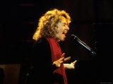 Singer and Songwriter Carole King Performing Premium Photographic Print by Marion Curtis