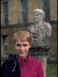 Actress Mia Farrow Premium Photographic Print by Alfred Eisenstaedt