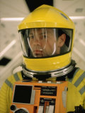 "Actor Gary Lockwood in Space Suit in Scene from Motion Picture ""2001: A Space Odyssey"" Premium Photographic Print by Dmitri Kessel"