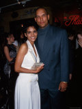 Actress Halle Berry and Husband, Professional Baseball Player David Justice Premium Photographic Print by Dave Allocca