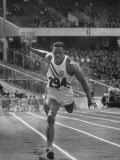Runner Milt Campbell Competing in the Olympics Premium Photographic Print by John Dominis
