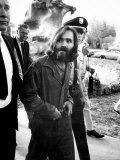 Leader of Hippie Family Charles Manson Indicted for Murders of Actress Sharon Tate and Friends Premium Photographic Print by Vernon Merritt III