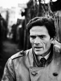 Director Piero Paolo Pasolini Premium Photographic Print by Carlo Bavagnoli