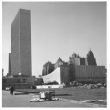 United Nations Permanent Headquarters on the East River Photographic Print by Walker Evans