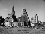 New York City Skyline as Seen from the Site of the New United Nations Permanent Headquarters Premium Photographic Print by Walker Evans