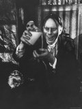 John Zacherle, Star of Shock Theater Premium Photographic Print by Robert W. Kelley